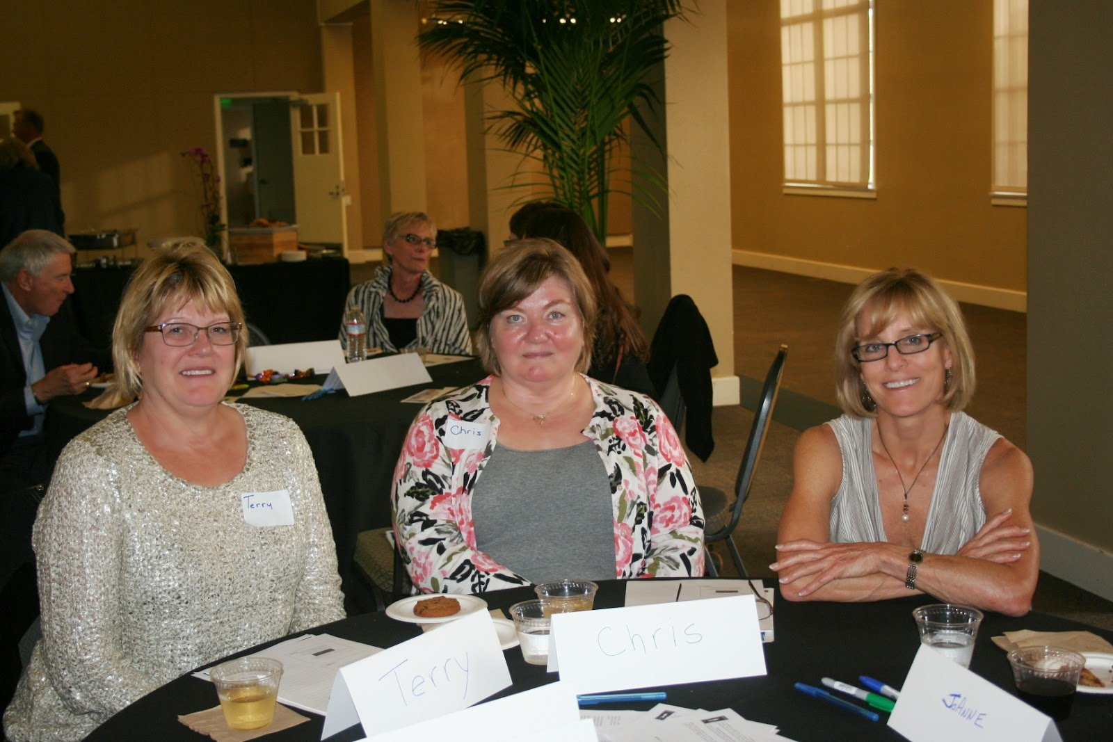 Reducing Stress - Attendees of the Howell Foundation presentation