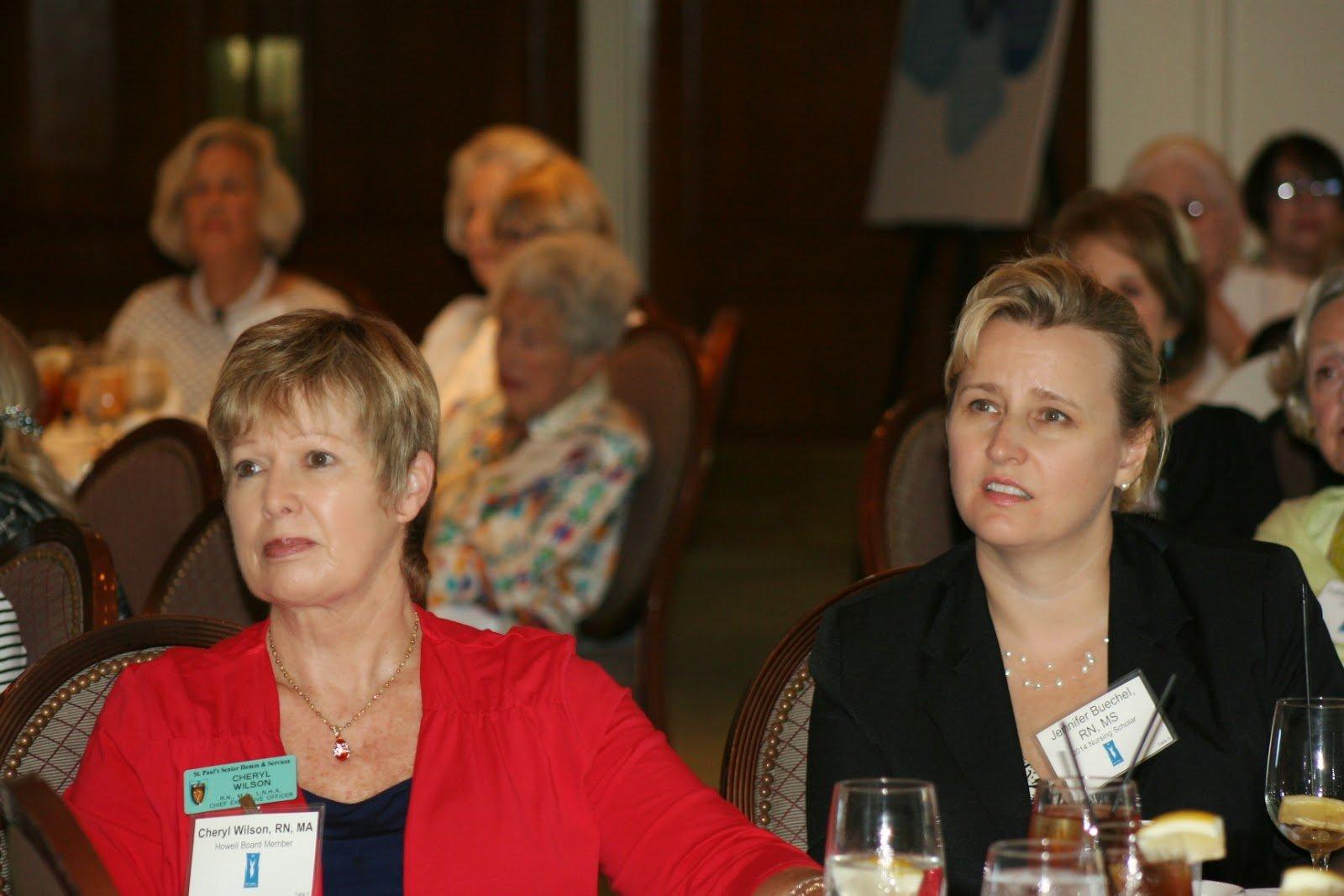 Cheryl Wilson and Jennifer Buechel Cheryl A Wilson Nursing Scholarship