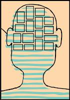 graphic of hormone organized in brain