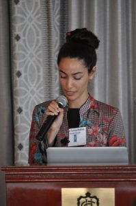 Sara Torres Robles honoring Dr. Skai