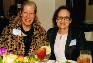 Carmen Colombo with Carole Banka - Nurses Scholar