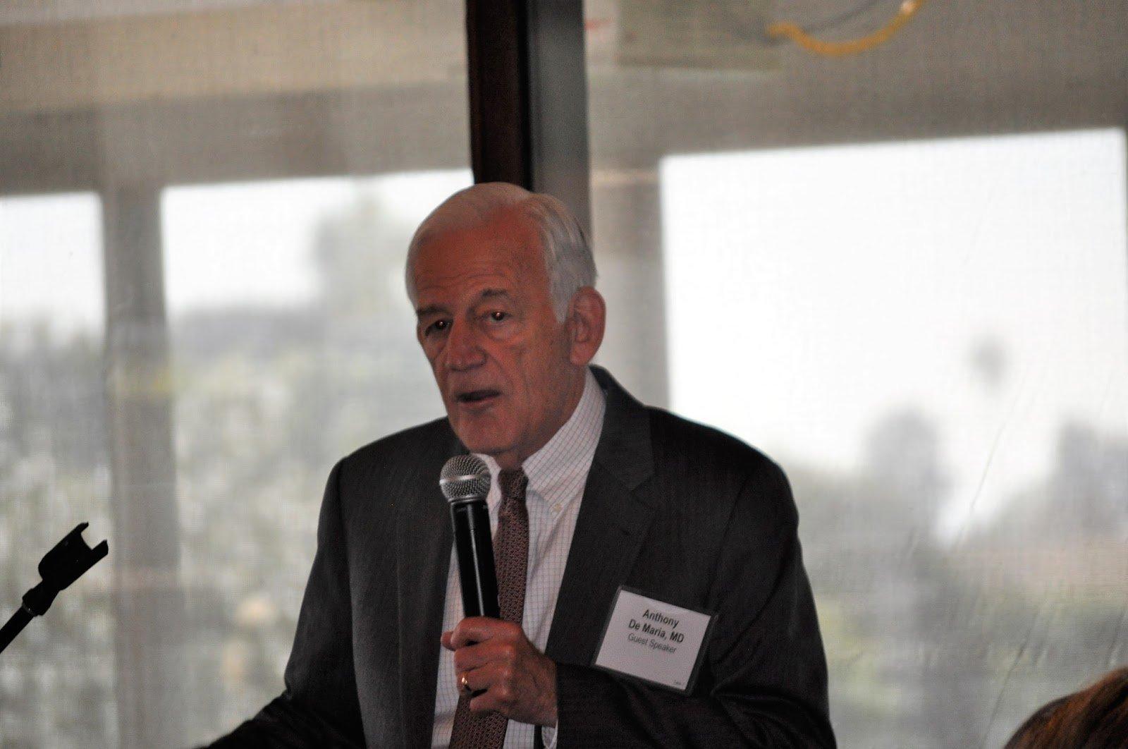 Dr. DeMaria speaks about Heart Disease